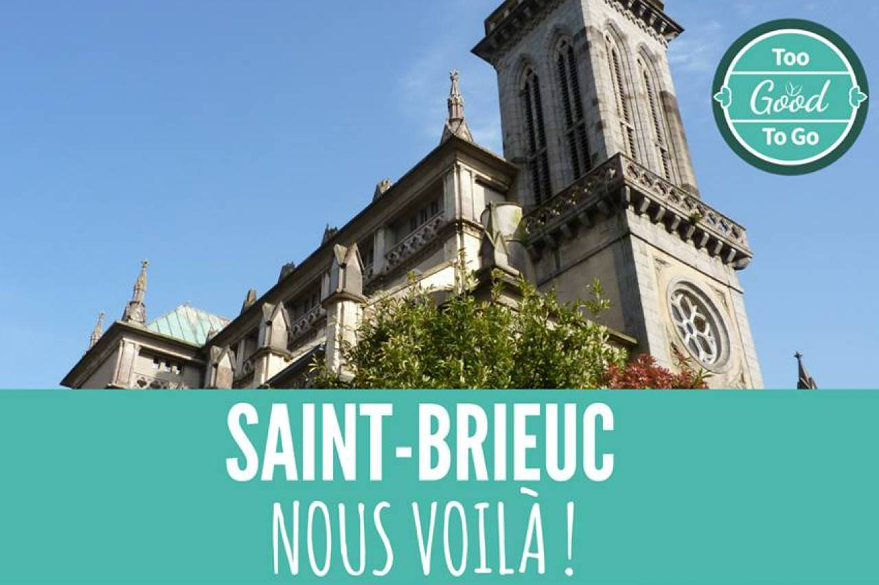 Saint-Brieuc : Too Good To Go à Saint-Brieuc